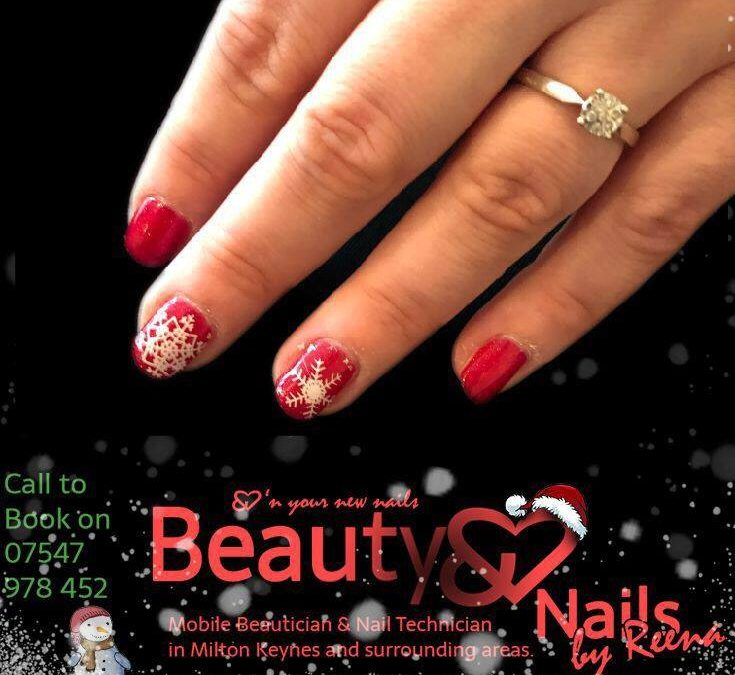 Get ready for gorgeous Christmas nails!